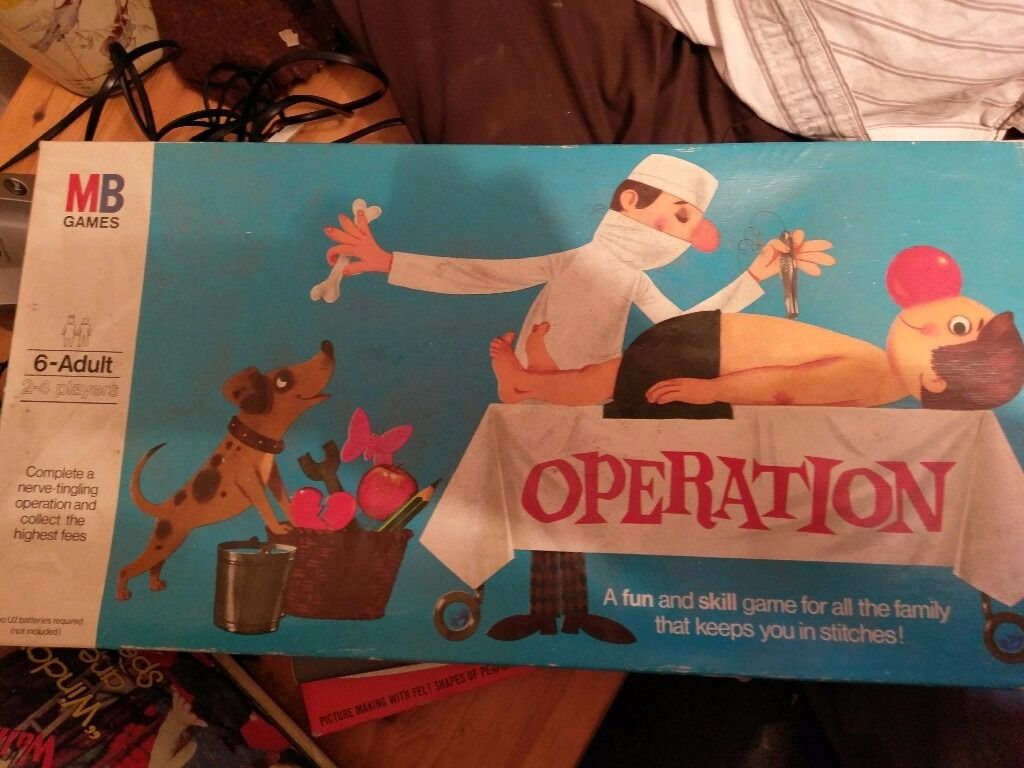 Operation game from the 1970,s