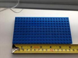 lego base plate Blue