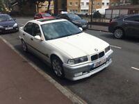 1991 BMW E36 SALOON FULL BLACK, AUTOMATIC, LEATHER, CLASSIC CAR, SUNROOF
