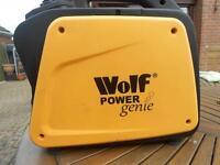 Suitcase generator, Wolf power genie inverter 2000