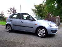 Ford Fiesta 1.4 Style, very low miles, 5dr, excellent condition, not corsa clio 207 polo zetec