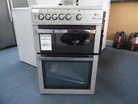 EX-DISPLAY SILVER FLAVEL 60 WIDE FREESTANDING COOKER REF: 31202