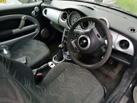 2002 MINI Hatch 1.6 One 3dr spare or repair PX to clear Needs new MOT some TLC