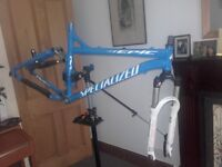 Specialized Mountain Bike Frame and Forks