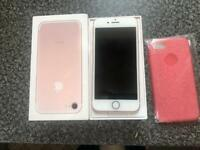 iPhone 7 32 GB Rose Gold like new Unlock to all network