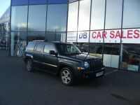 2008 08 JEEP PATRIOT 2.0 LIMITED CRD 5D 139 BHP***GUARANTEED FINANCE***PART EX WELCOME***