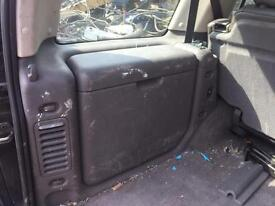 Land rover discovery rear cubby boxs