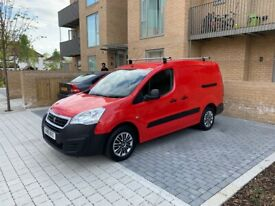 2018 Peugeot Partner 1.2 petrol / ULEZ FREE / 49K / 1 YR mot / Full SH / ex Royal mail / only £8775