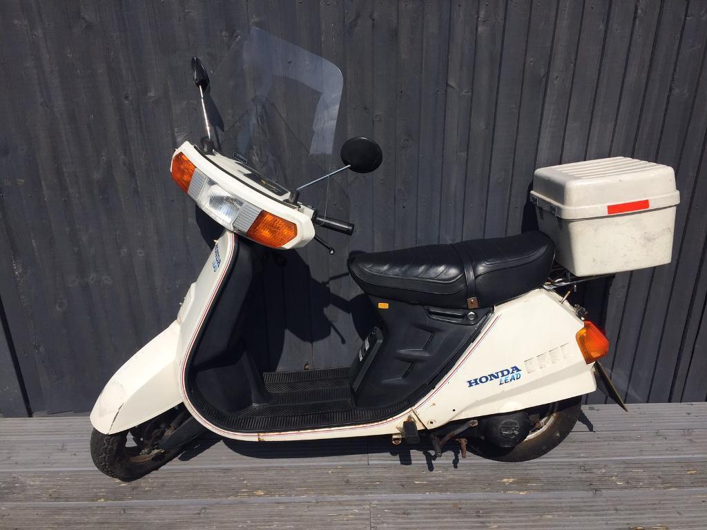 Honda lead 80cc classic bike full logbook original owner pack two keys £350