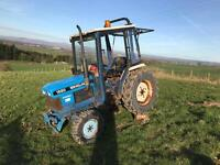 Ford 1520 3 cylinder compact tractor c/w 4wd