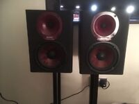 Hi fi speakers with stands for sale