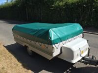 Conway Countryman 4-Berth Folding Camper, Very Little Used, Garage Stored, Excellent Condition!