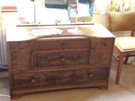 Walnut Dressing Table - Excellent Condition