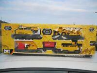 Large Cat- Construction express Train Set.
