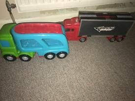 2 car transporters. Perfect condition