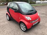 Smart city coupe new mot