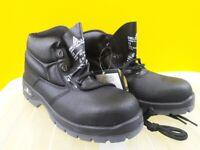 Brand New Delta Plus Jumper2 S1 SRC Black UK Size 9 Metal Toe Cap Safety Footwear