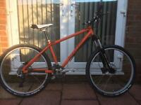 "Custom Built DMR Trailstar Trail Mountain Bike, Size Medium 16"""