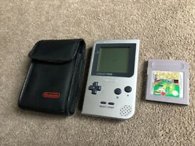 Silver Gameboy Pocket