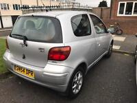 Toyota Yaris ( automatic),(1 year mot)Engin size 998 cc,very low mileage