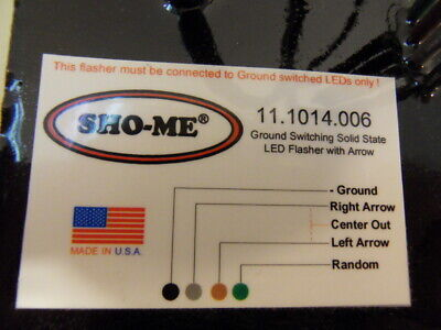 Sho-me Able-2 Led Flasher 11.1014.006 Nos Inv14