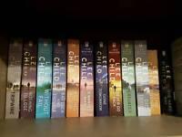 Lee child jack reacher books x19