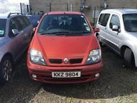 2003 1.9 Diesel, Renault Scenic, Breaking for parts only, Postage nationwide.