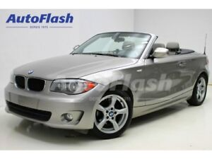 2012 BMW 128I Premium Convertible * Cuir/Leather * Bluetooth *