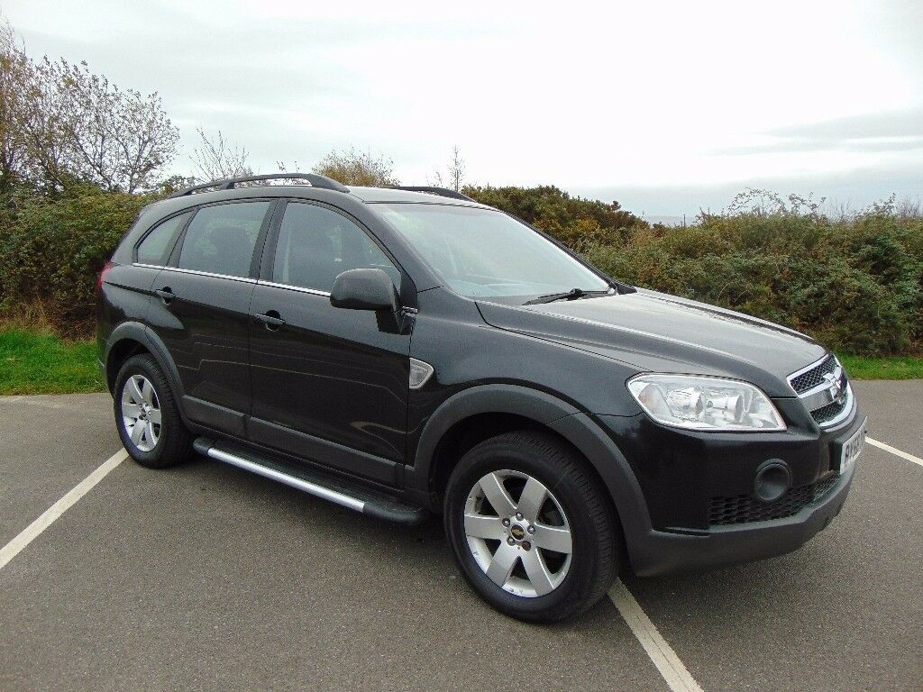 Selling Our 2008 Chevrolet Captiva LT VCDI October 2018 MOT Service History Superb Car £2750 Or ONO