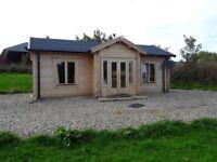 Rural Log Cabin
