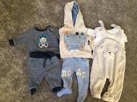 New born and 0-3 clothes bundle