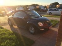 Vw beetle convertible for quick sale