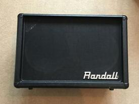 Randall 2x12 cab with celestion speakers