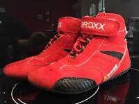Arroxx go kart race shoes size 1