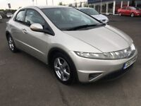 2007 Honda Civic SE 1.8 Auto , mot - April 2019 , service history , 2 owners,focus,astra,auris,golf