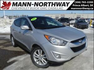 2012 Hyundai Tucson Limited | Leather, Sunroof, Bluetooth.