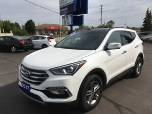 2017 Hyundai Santa Fe Sport 2.4 SE AWD, leather, panoramic mo...