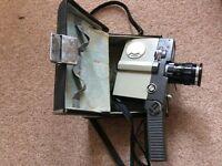 Sankyo Movie Camera 8-CM & carry case.
