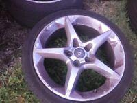 Vauxhall alloys 18 inch