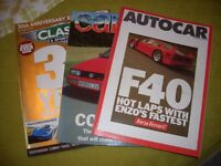 Car Magazine selection