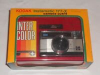 VINTAGE 1979 KODAK INSTAMATIC 177-X - IMMACULATE CONDITION - ORIGINAL BOX -