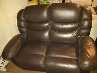 Lazy Boy electric reclining leather sofa - £500 o.n.o