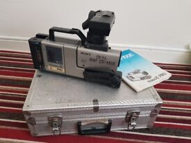 Sony Video camera CCD V100E Video8 pro + extras camcorder