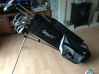 Onyx Golf Club Set & Bag (Right Handed)