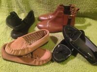 Bundle of ladies shoes size 4
