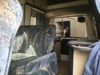 Small motorhome/campervan