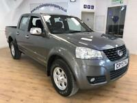 GREAT WALL STEED 2.0 TD TRACKER 4X4 DCB 1d 137 BHP R PARKING SENSOR (grey) 2015