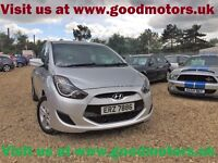 2012 Hyundai iX20 Active*Full history*AC*Radio/CD/MP3/USB/AUX/iPod point/Blutooth/Voice comand*...