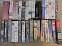 Assorted VHS videos for sale
