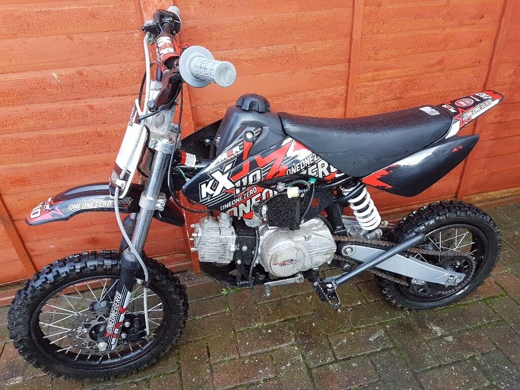 110cc Pit Bike Pitbike Like New Fast Dirt Bike Scrambler